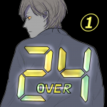 24 over①